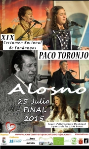 XIX Certamen Nacional de Fandangos Paco Toronjo